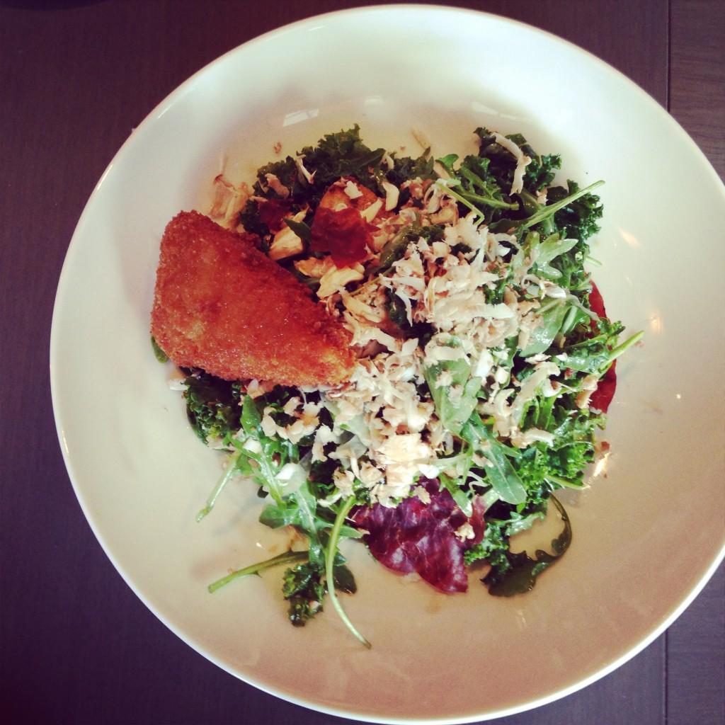 Bocce kale salad