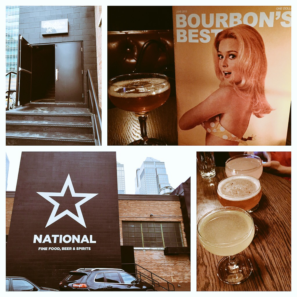 New entrance, new sign, new drinks! The new menu reads like a mini-magazine with drink listings and a letter from the bartender!