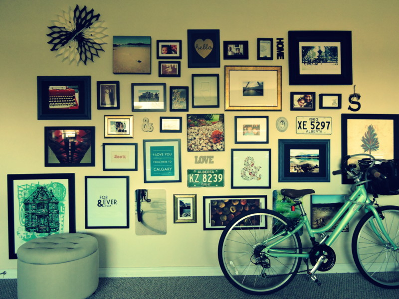 Make an impact in your home decor with a gallery wall.