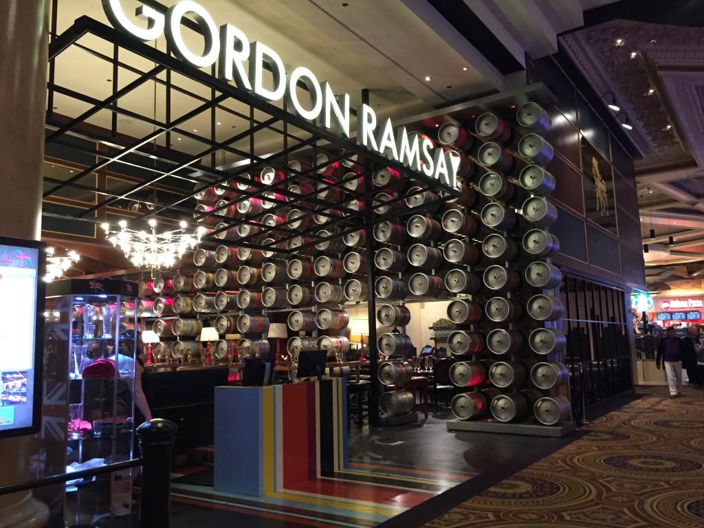 Hell's Kitchen Gordon Ramsay Las Vegas