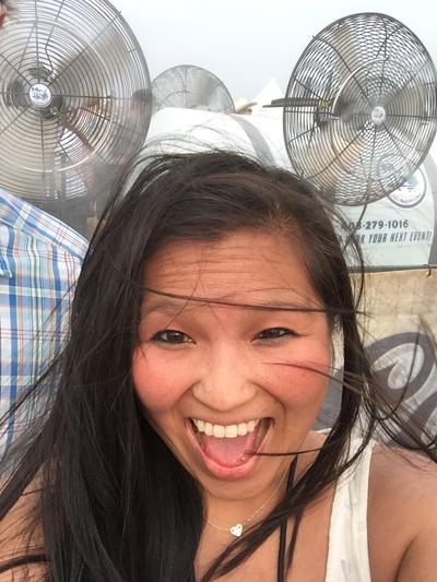 Oxford Stomp Spray fan