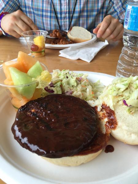 Oxford Stomp veggie burger