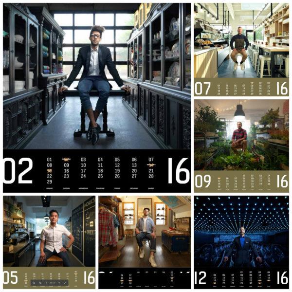 Shop Boys calendar 2016