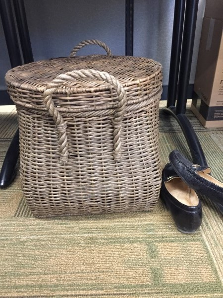 Basket for shoes