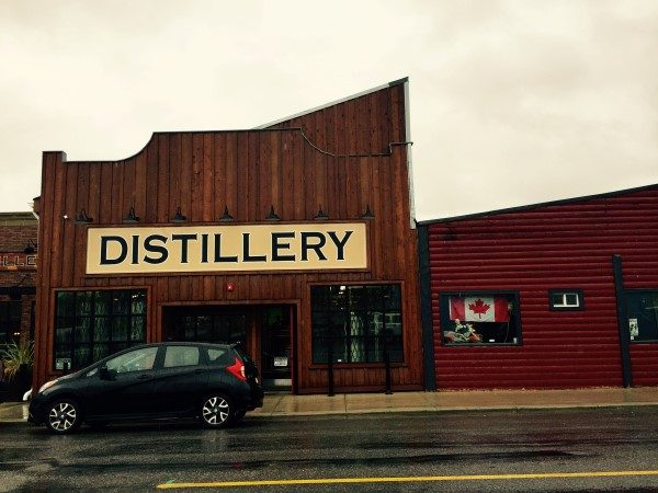 Eau Claire Distillery in Turner Valley.