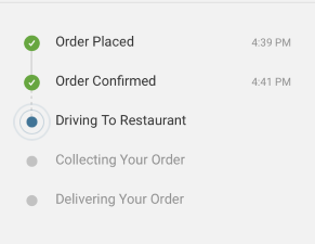 Tracking your order
