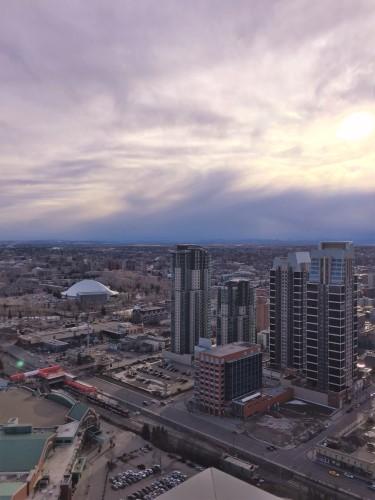 Calgary cityscape Guardian Towers