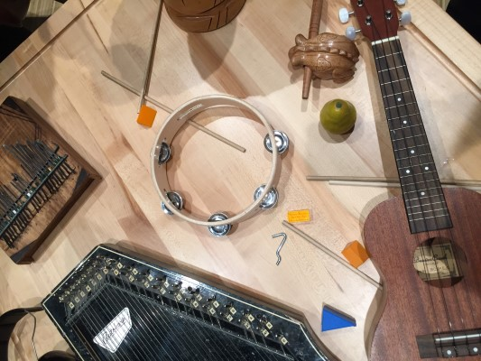 Studio Bell instruments