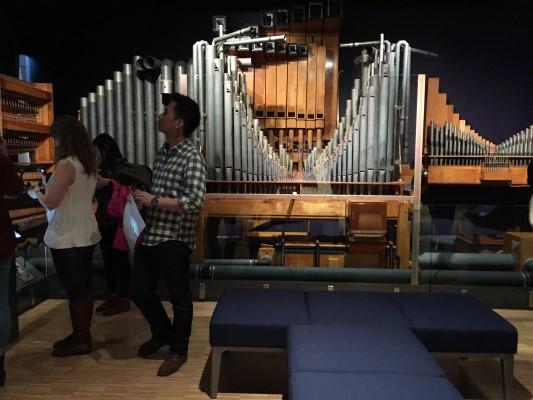 Organ at Studio Bell