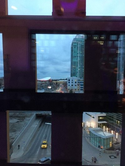 Amazing views from the skybridge.