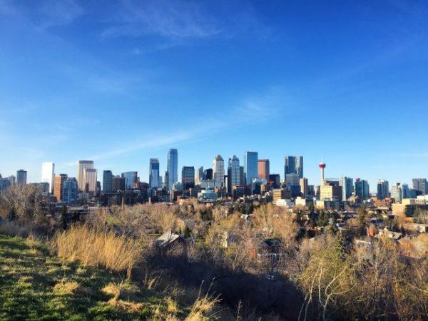 Calgary skyline LoveYYC