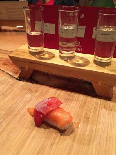 Sushi at Goro and Gun