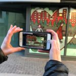 Northern Reflections window displays brings augmented reality to Calgary