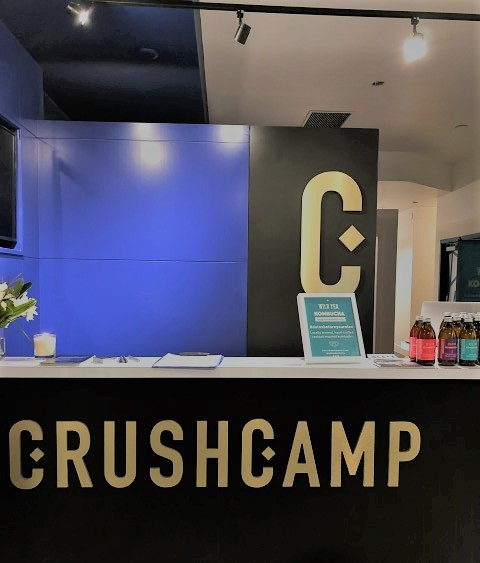 CrushCamp in Calgary on 17th Avenue SW