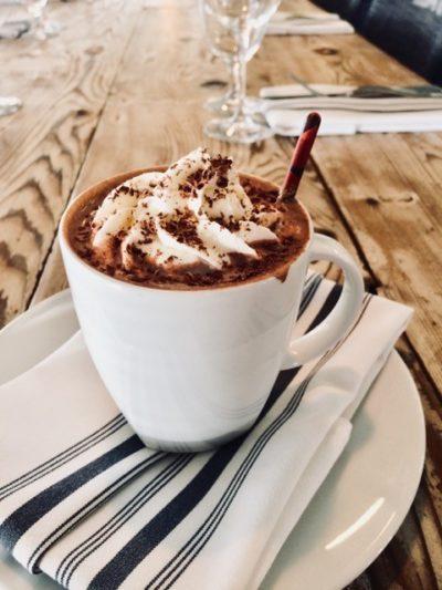 Chili inspired hot chocolate at The Nash.