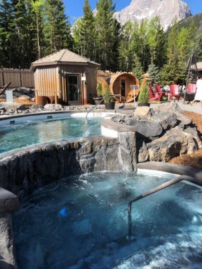 Kananaskis Nordic Spa pools
