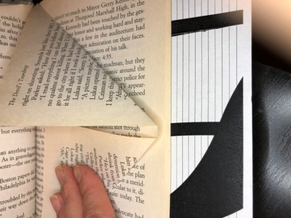 Folding book art tips