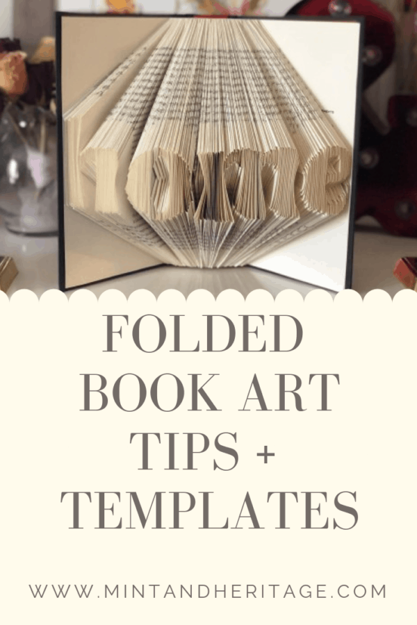 Tips to make folded book art