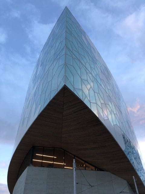 The Prow section of the New Central Library