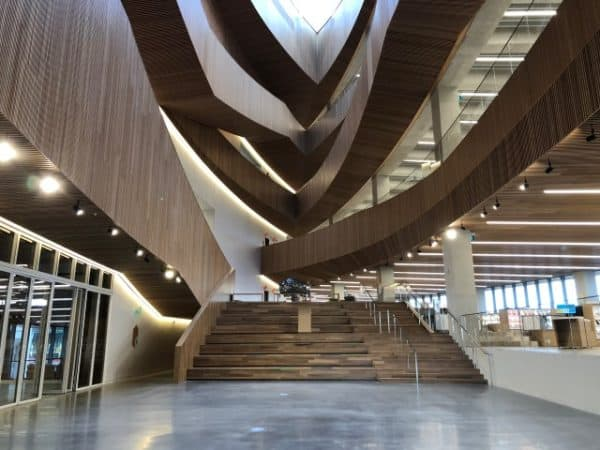 Welcome Gallery in New Central Library