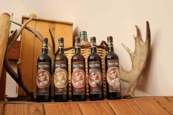 Spirit Hills Winery honey wine