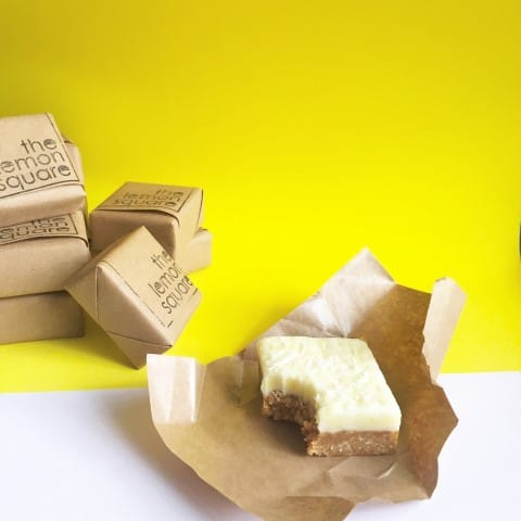 Lemon square dessert treats