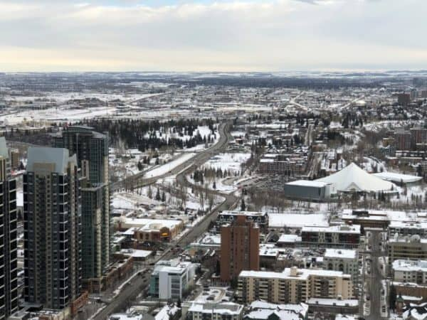 Views of south Calgary