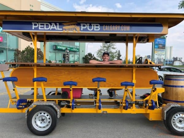 Pedal Pub group bicycle bar
