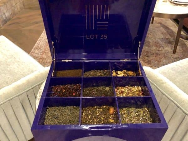Fairmont loose leaf tea options