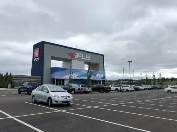 New iFly Calgary indoor skydiving facility