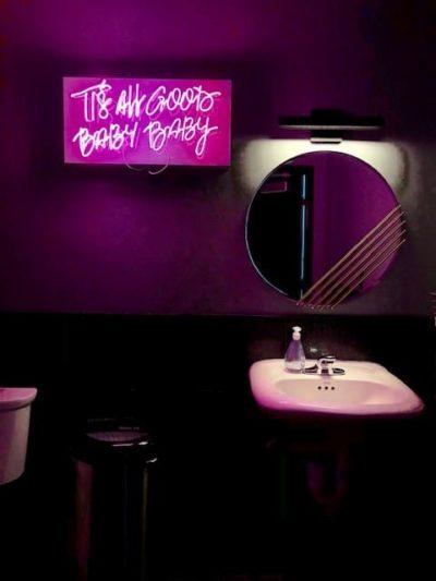 Cool Calgary bathroom Taiko Canteen