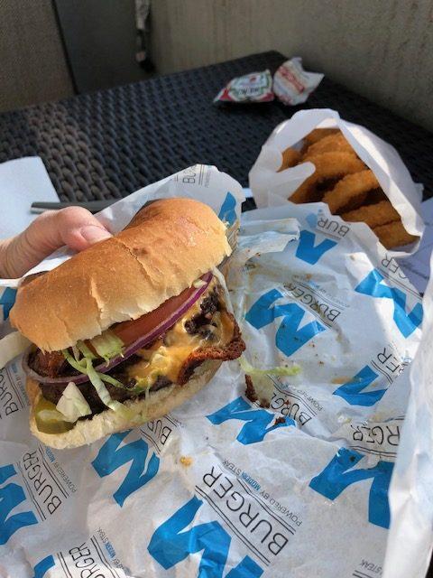 Modern Burger takeout